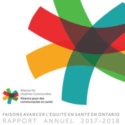 Faisons avancer l'équité en santé en Ontario rapport annuel 2017-2018