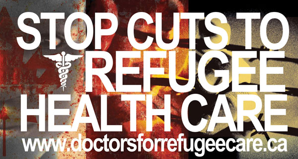Stop cuts to refugee health