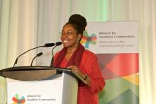 Angela Robertson, Executive Director, Parkdale-Queen West CHC