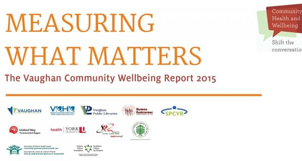 Vaughan Wellbeing Report